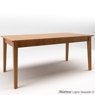 Table MISTRESS L160 en Chêne