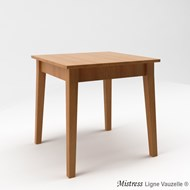 Table MISTRESS L70 en Chêne