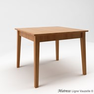 Table MISTRESS L90 en Chêne