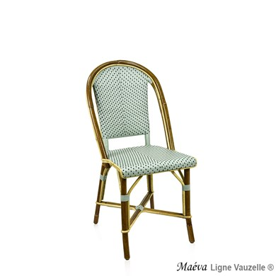 Chaise GROCK_MAEVA, Rotin Naturel