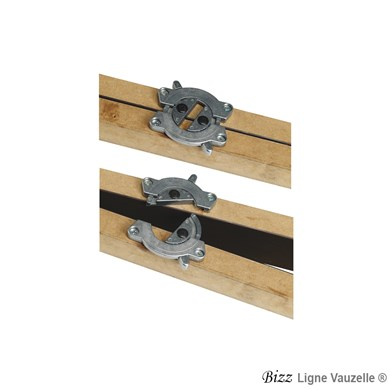 BIZZ Set de fixation pour table à l'unité (2 sets par tables)