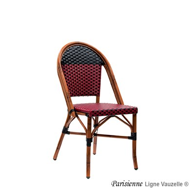 Chaise PARISIENNE, Epoxy Rotin,Tressage :...