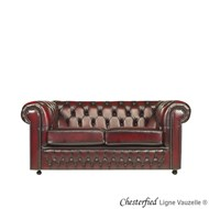 Canapé CHESTERFIELD 2,5 Places (Longueur : 190 cm)