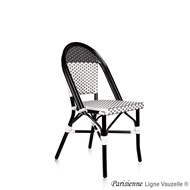 Chaise PARISIENNE,Epoxy Rotin, Tressage :...