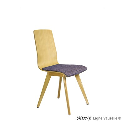 Chaise MISS-JI Hêtre Assise Galette