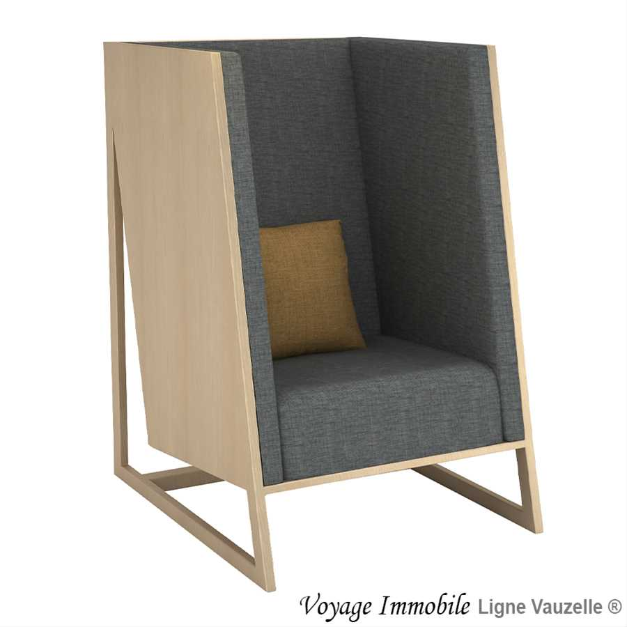 Fauteuil voyage immobile avec stratifi chant multiplis for Canape voyage immobile