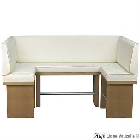 m l banquette actua haute high socle plaqu h tre ligne. Black Bedroom Furniture Sets. Home Design Ideas