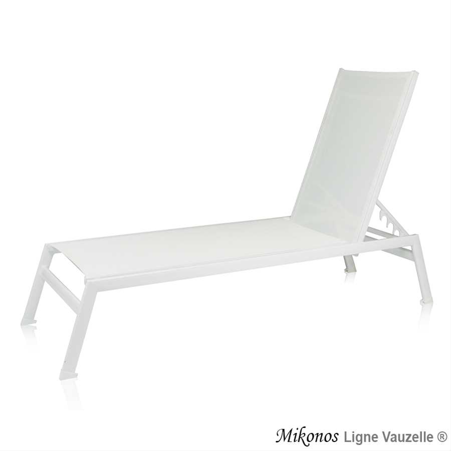 bain de soleil mikonos epoxy blanc batyline blanche ligne vauzelle. Black Bedroom Furniture Sets. Home Design Ideas