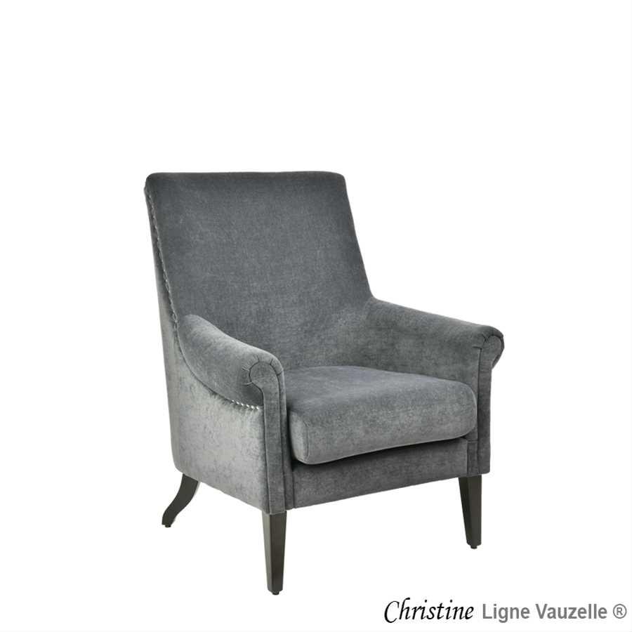 fauteuil christine hauteur d 39 assise 45 cm ligne vauzelle. Black Bedroom Furniture Sets. Home Design Ideas