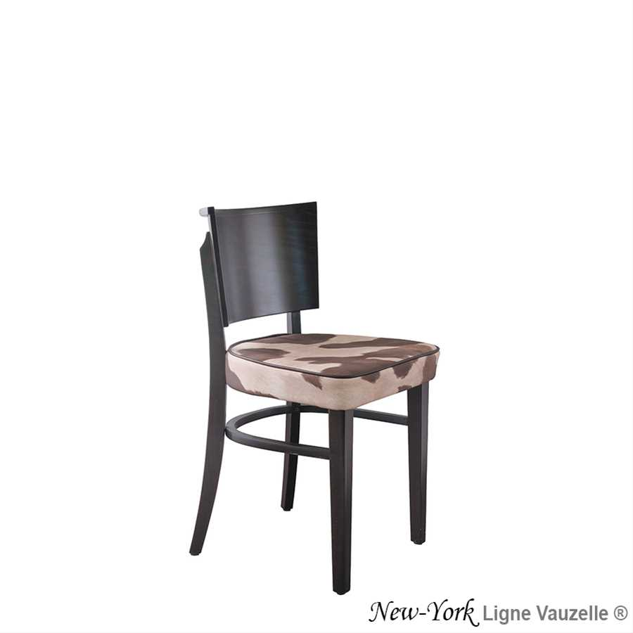 chaise new york assise epaisse ligne vauzelle. Black Bedroom Furniture Sets. Home Design Ideas