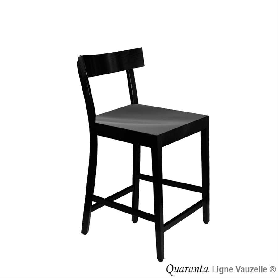 tabouret quaranta hauteur d 39 assise 60 cm ligne. Black Bedroom Furniture Sets. Home Design Ideas
