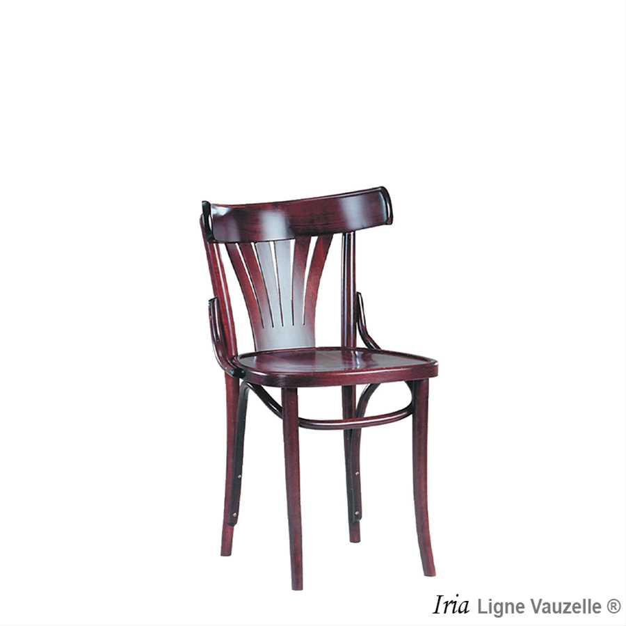 Chaise iria assise bois ou galette ligne vauzelle for Chaise hauteur assise 48