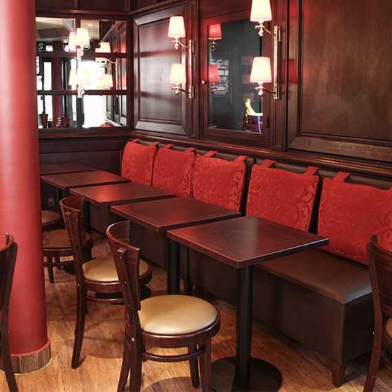 m l banquette tradition cushion hauteur d 39 assise 49cm ligne vauzelle. Black Bedroom Furniture Sets. Home Design Ideas